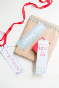Charming Printable Christmas Tags