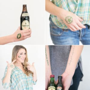 Charming Printable Saint Patrick's Day Tattoos