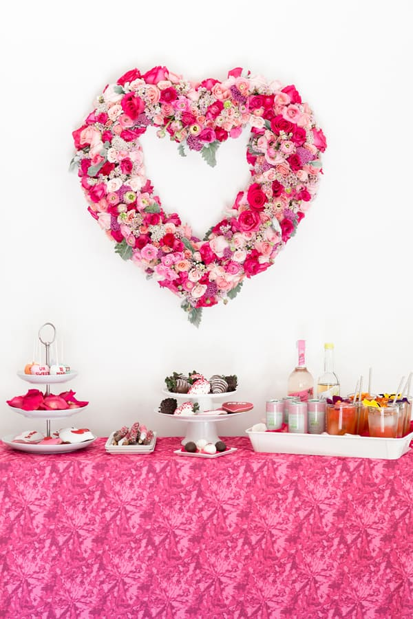 Valentineu0027s Day Girlfriend Get Together   Sugar And Charm   Sweet Recipes    Entertaining Tips   Lifestyle Inspiration Sugar And Charm U2013 Sweet Recipes  ...