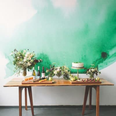 7 Watercolor Inspired Walls