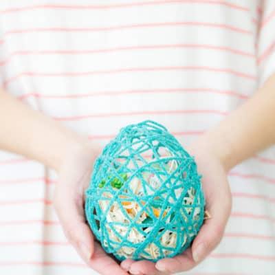 DIY Easter Surprise Egg