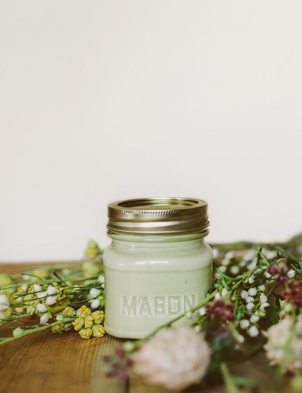 AVOCADO face mask clean green organic living
