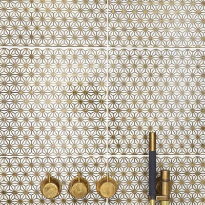 10 Chic Bathroom Tiles