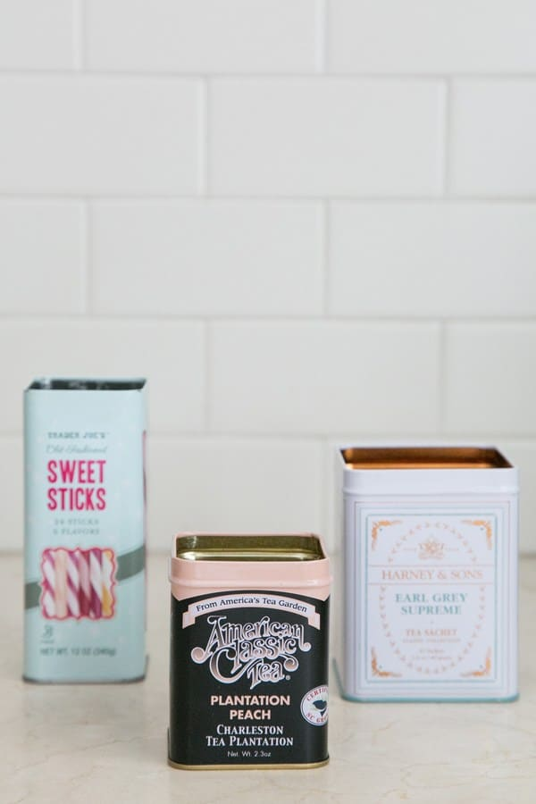 empty cans for making your own candles