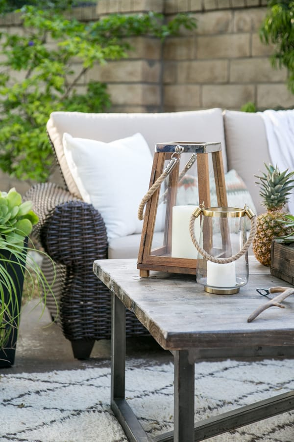 Home Depot Patio Wall Blocks: Home Depot Patio Style Challenge