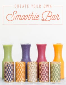Create Your Own Smoothie with Silk