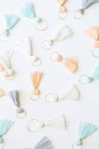 DIY Tassel Wine Charms