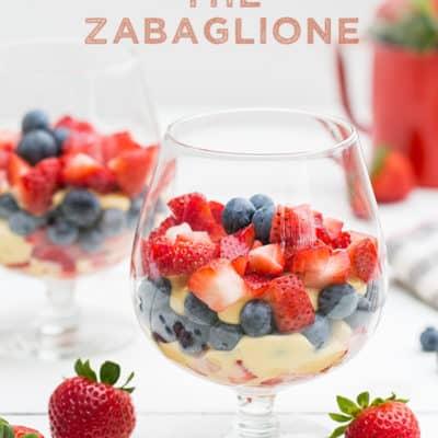 An Italian Dessert – The Zabaglione