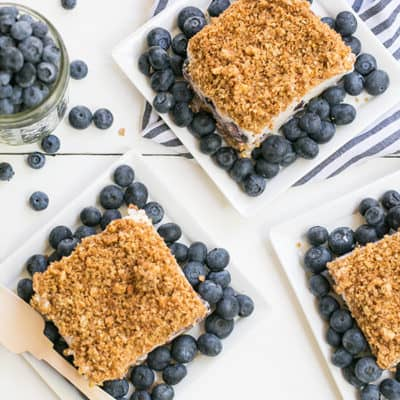 How to make blueberry icebox cake