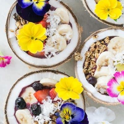 A Healthy Acai Bowl Recipe