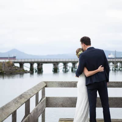 A Charming Astoria Oregon Wedding