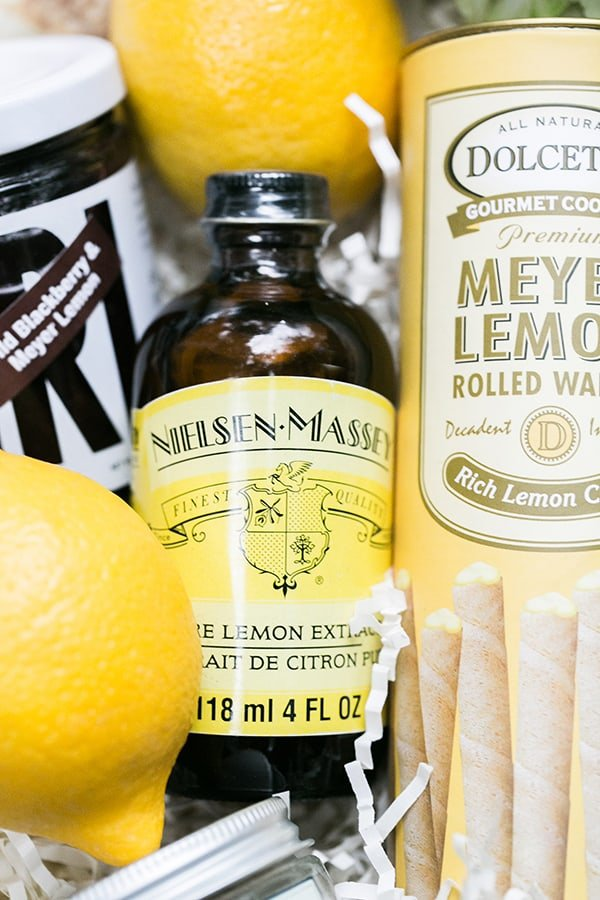 lemon extract and lemon cookies