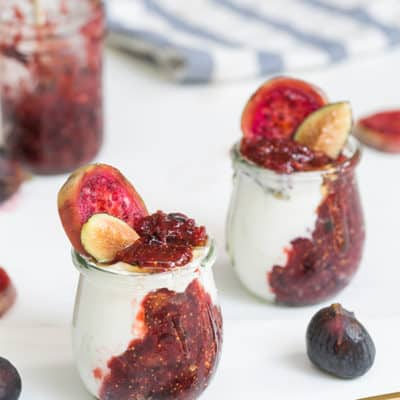 Homemade Jam, Yogurt & Honey Pots