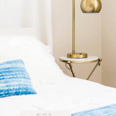 Enhance a Guest Bedroom with Lighting!