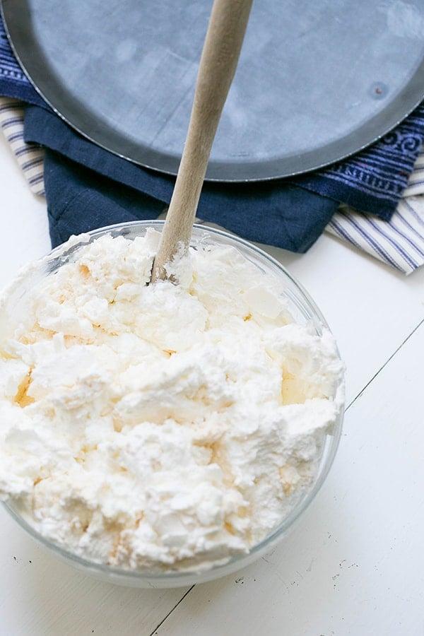 shot of whipped cream