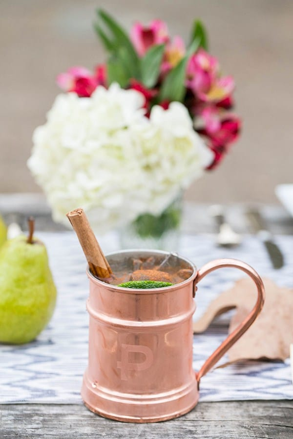 shot of a moscow mule