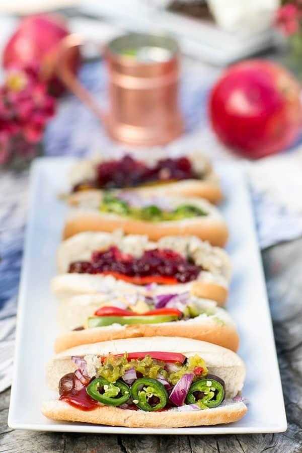 camping ideas - gourmet hotdogs