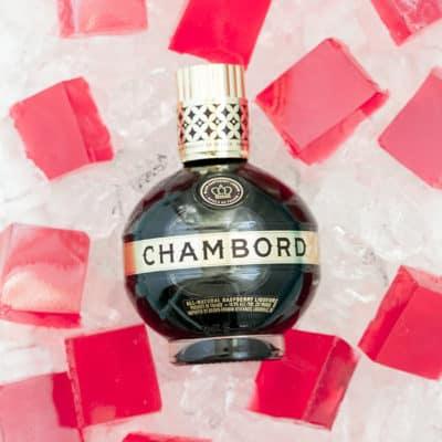 Champagne + Chambord Jigglers