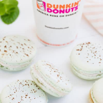 Mint Hot Chocolate Macaron Recipe