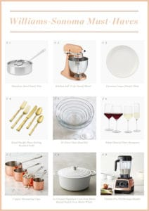 Williams-Sonoma Must-haves