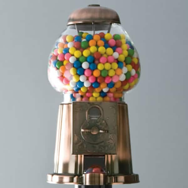 Old Fashioned Gumball Machine Sugar And Charm