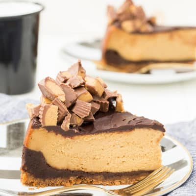 Chocolate Peanut Butter Cheesecake Recipe!