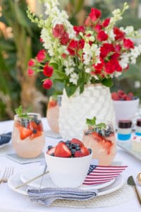 4th of July Party Inspiration And Easy Summer Cocktails, with Crate and Barrel!