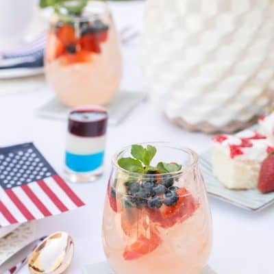 4th of July table inspiration from Crate and Barrel