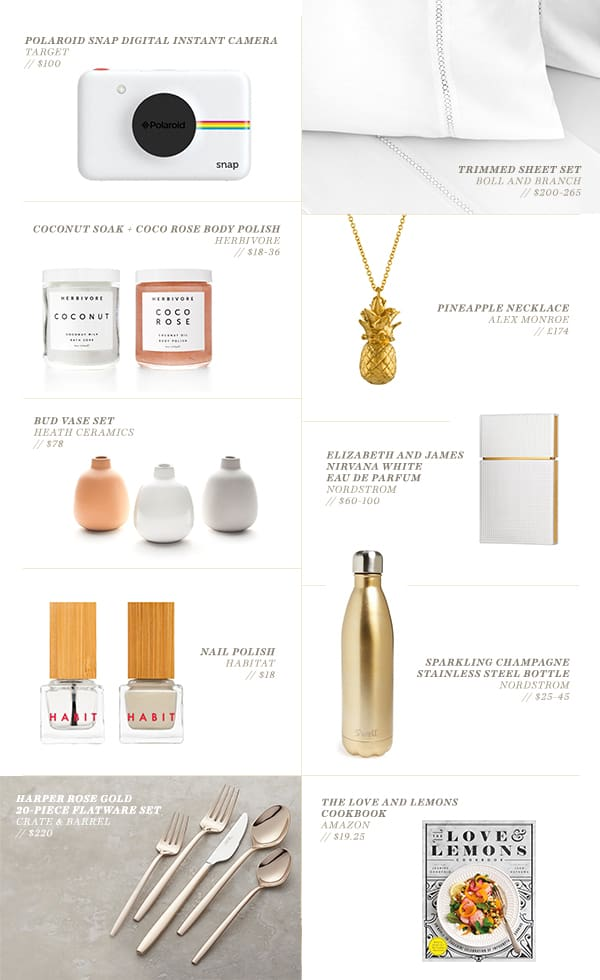 Mother's Day Gift Guide graphic with products