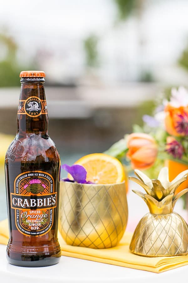 Bottle of Crabbies Ginger Orange Spiced Beer