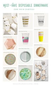 Must-Have Disposable Dinnerware for your Parties!