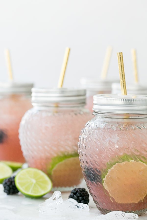 Blackberry Margarita Party Punch! - Sugar and Charm ...