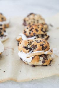 Chocolate Chip Biscuit S'mores!