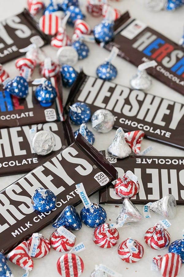 Hershey's Bars and Kisses