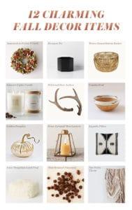 12 Charming Fall Decor Items