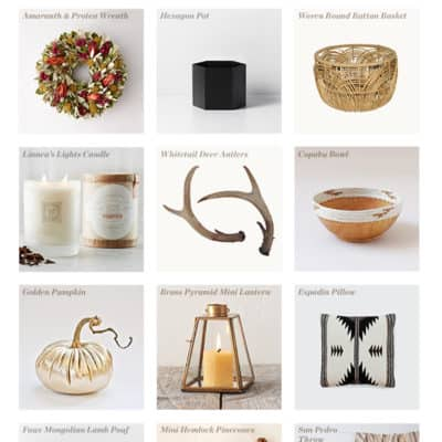 12 Charming Fall Decor Items