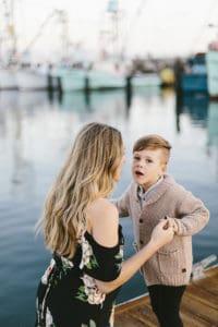 A Santa Barbara Harbor Family Photo Session