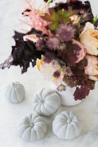 DIY Concrete Pumpkins