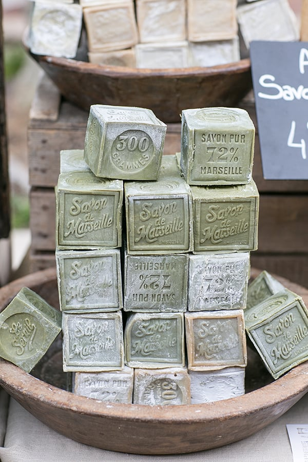 Blocks of Savon de Marseille Soap
