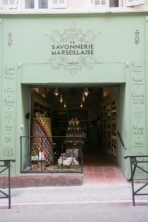 Savon de Marseille Soap in France