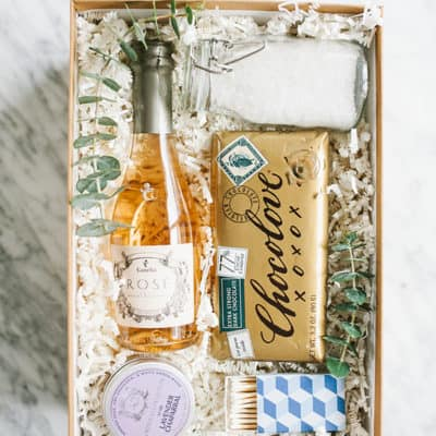 A Charming Bubble Bath Gift Box!
