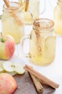 Hard Spiced Apple Cider Cocktail