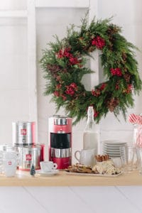 A Charming Holiday Espresso Bar!