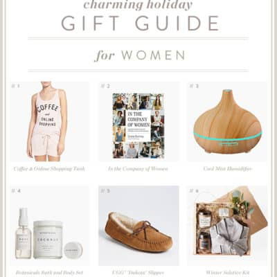 A Charming Holiday Gift Guide