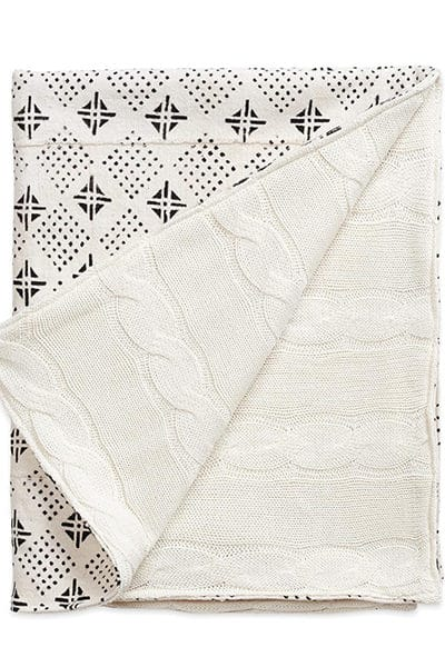 tribal-mud-cloth-cable-knit-baby-blanket