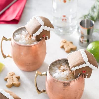 Gingerbread moscow mules