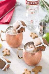 Christmas Gingerbread Moscow Mule