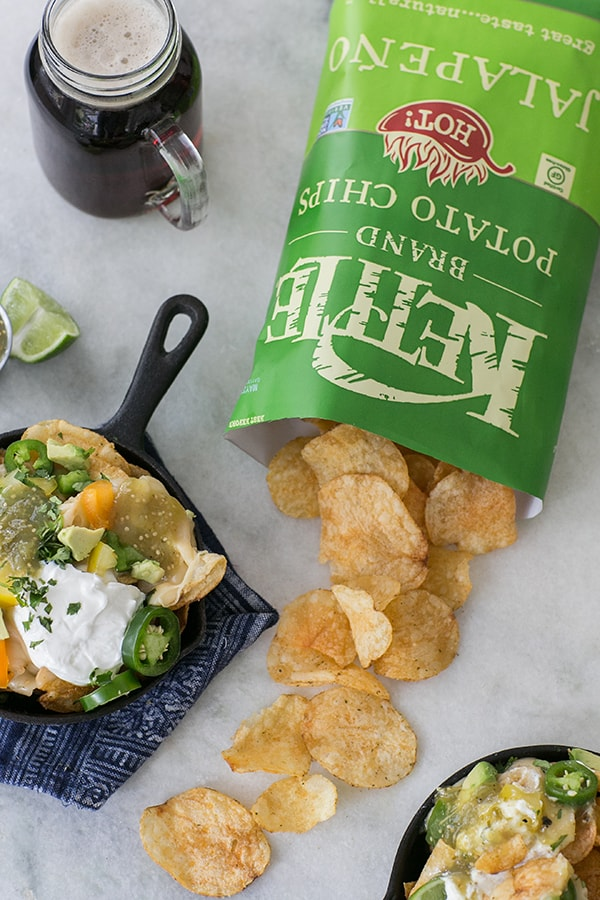 Kettle chips and nachos