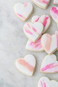 Easy Brushstroke Sugar Cookies