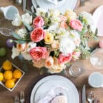 Eden Passante styles an Easter brunch for Crate and Barrel.